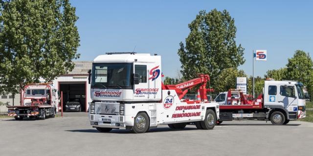 Saintonge Dépannage Transports - véhicules