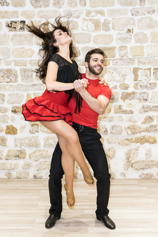 Photo de danseurs du Dancenter Paris