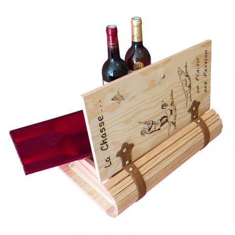 Packshot Livre en bois personnalisé