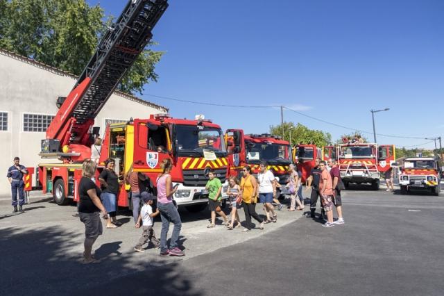 Ville de Saintes - Portes ouvertes des Sapeurs Pompiers