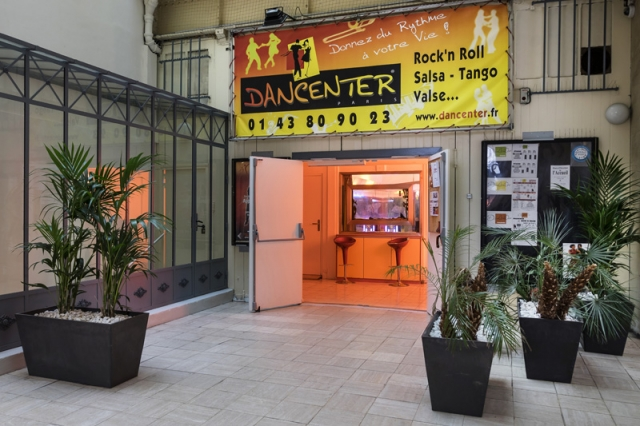 Locaux Dancenter Paris - entrée