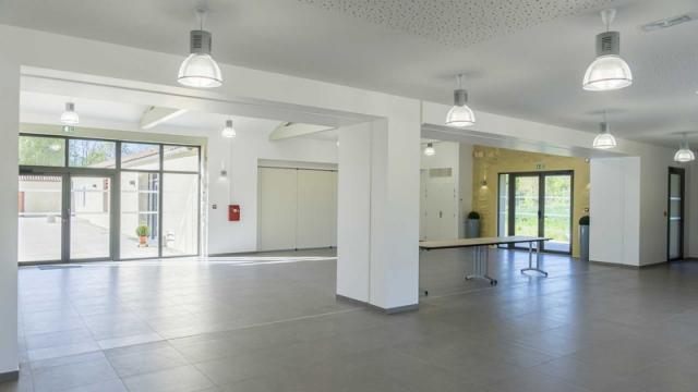 Salle de réception Domaine de l'abadaire