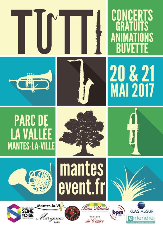 Flyer et affiche Tutti 2017 recto