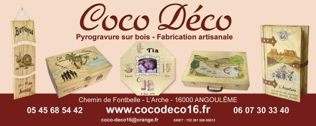 Banderole Coco Déco 200x80cm