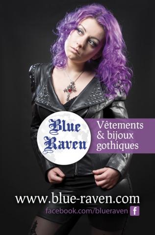 Flyer Blue Raven (ancien logo)