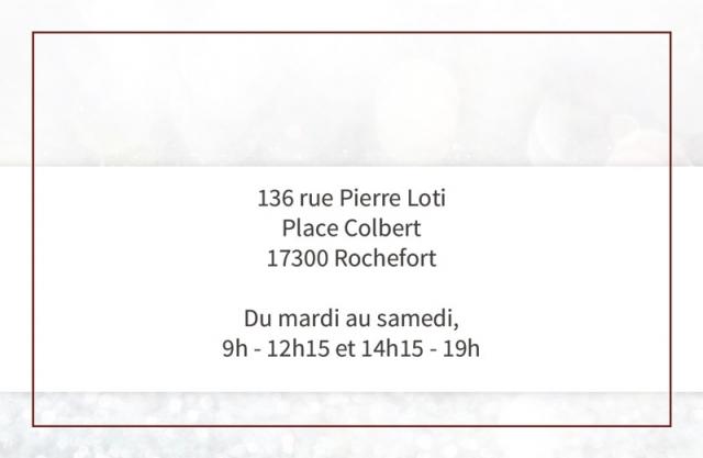 Carte de visite Marie Frot verso