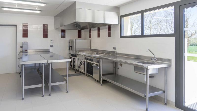 Cuisine professionnelle Domaine de l'abadaire