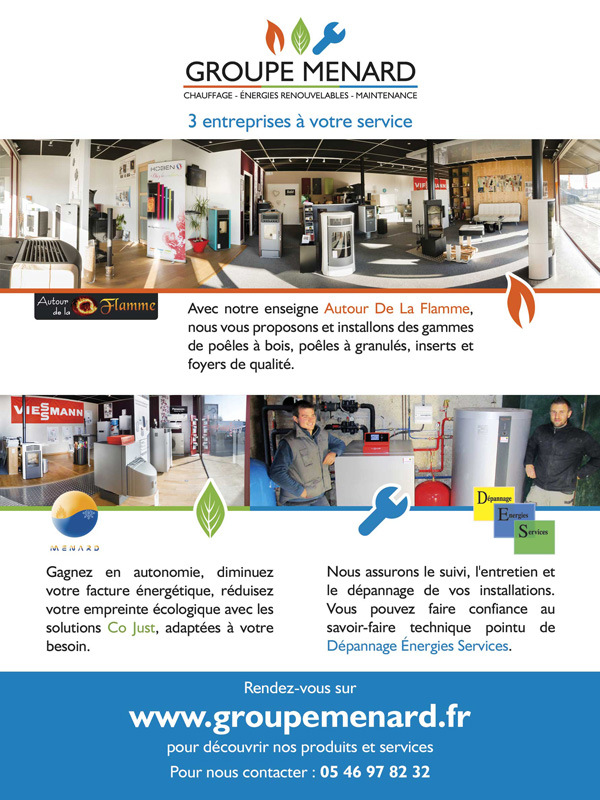 Flyer Groupe Menard recto