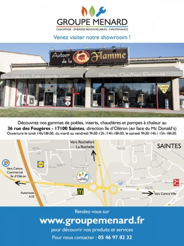 Flyer Groupe Menard verso