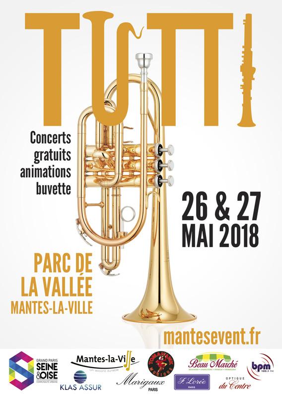 Flyer et affiche Tutti 2018 recto