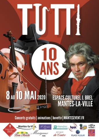 Flyer et affiche Tutti 2020 recto