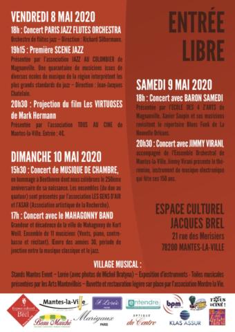 Flyer et affiche Tutti 2020 verso