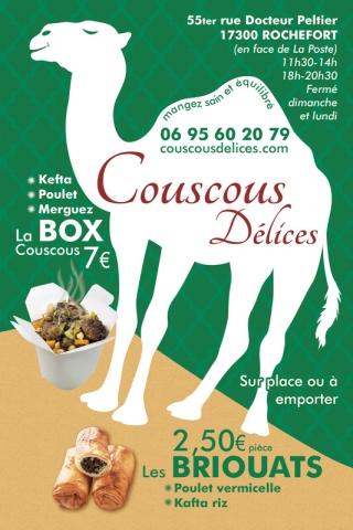 Flyer Couscous Délices recto