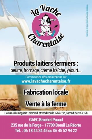 Flyer La Vache Charentaise