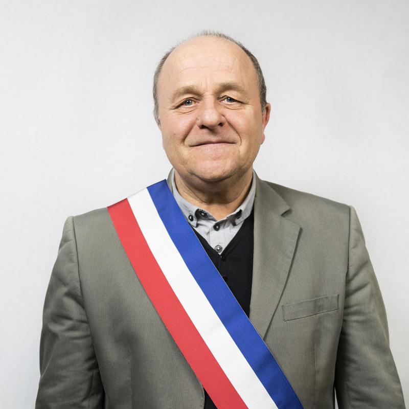 Portrait M le Maire La Gripperie-Saint-Symphorien