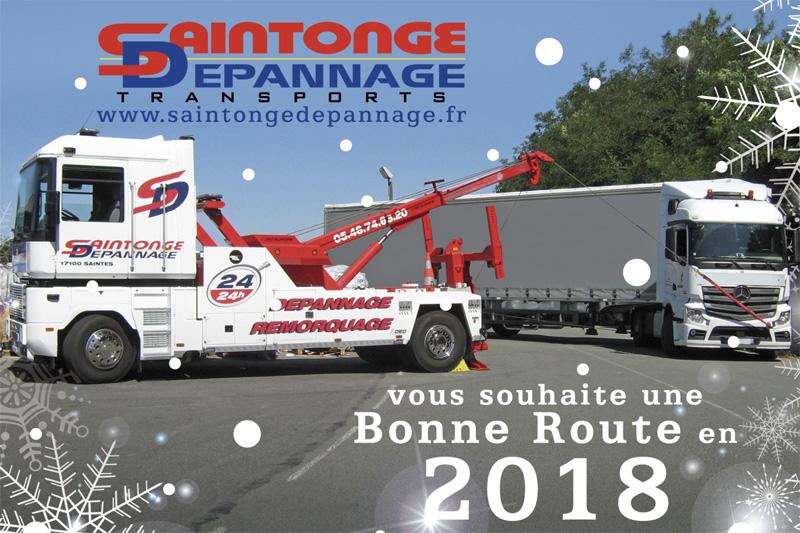 Saintonge Dépannage Carte de voeux 2018