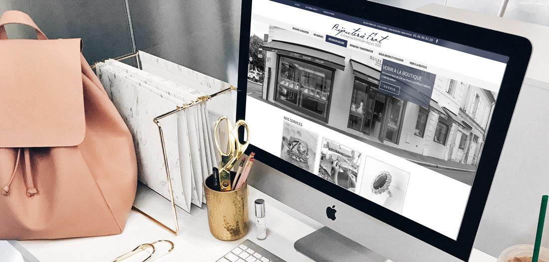 Site web Bijouterie Frot