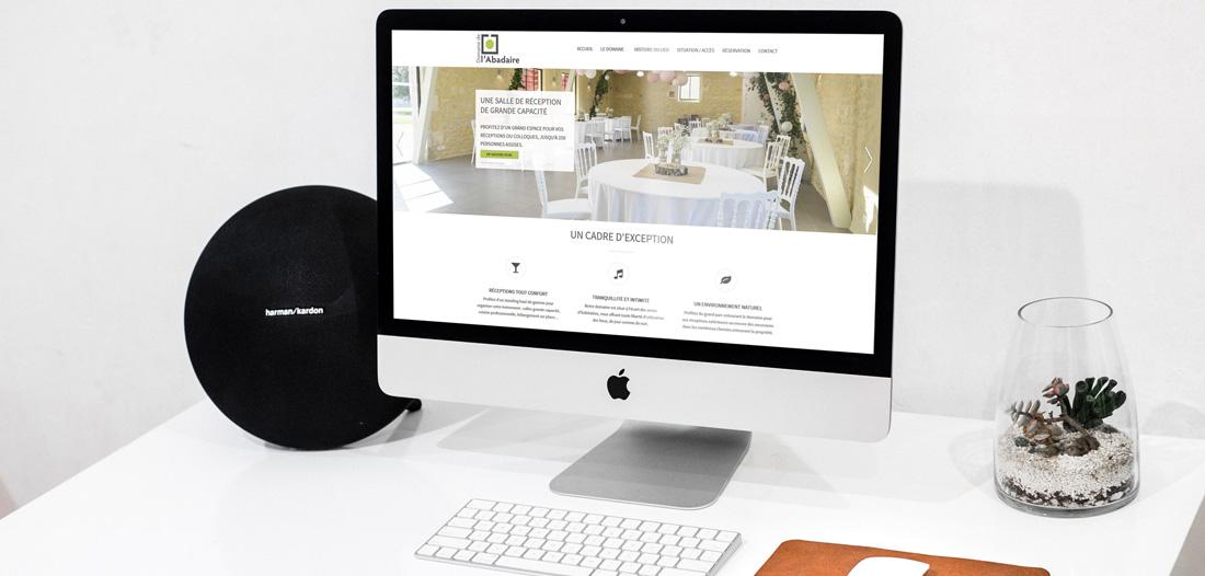 Site web Domaine de l'Abadaire