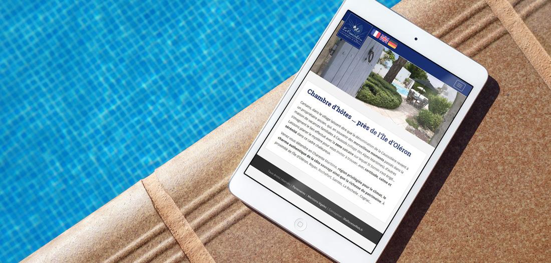 Site web La Caussolière