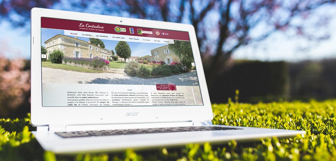 Site web La Contadine