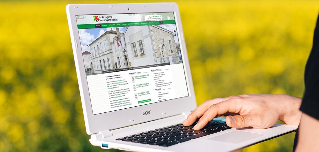 Site web La Gripperie Saint Symphorien