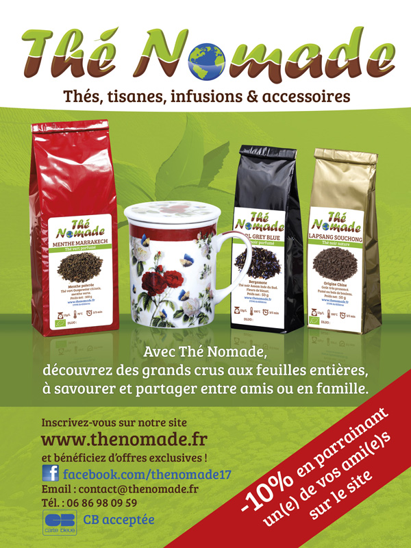 Flyer Thé Nomade recto