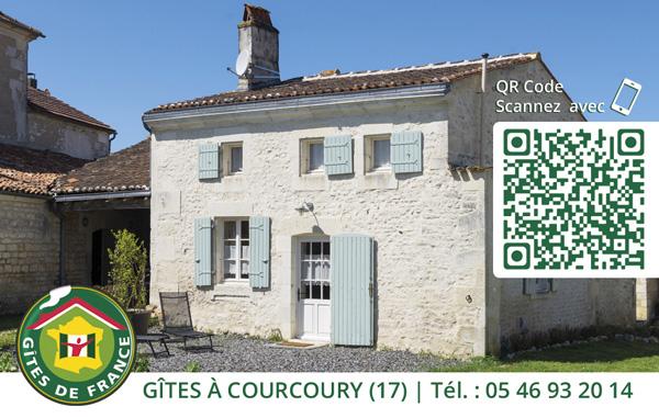 """Carte de visite du gîte """"Chez Brette"""""""