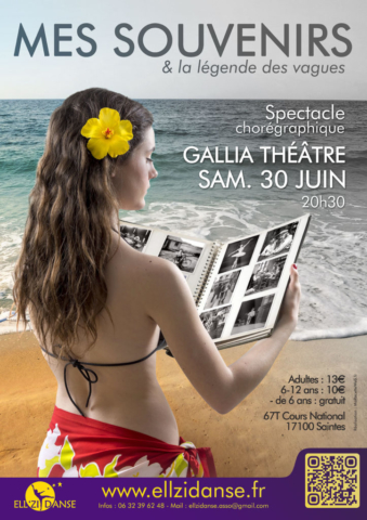 Affiche spectacle Ellzidanse 2018