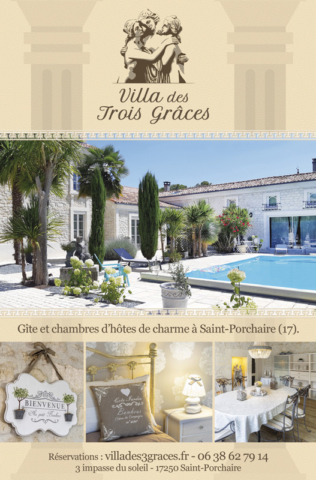 La Villa des Trois Grâces - Flyer recto