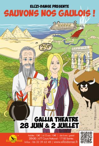 Affiche spectacle Ellzidanse 2019