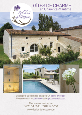 Flyer Le Clos de Tesson - recto